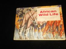 VINTAGE SET BROOKE BOND PICTURE CARD ALBUM AFRICAN WILD LIFE